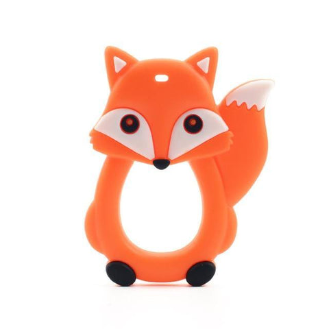Silicone Teether - Fox - Our Baby Nursery