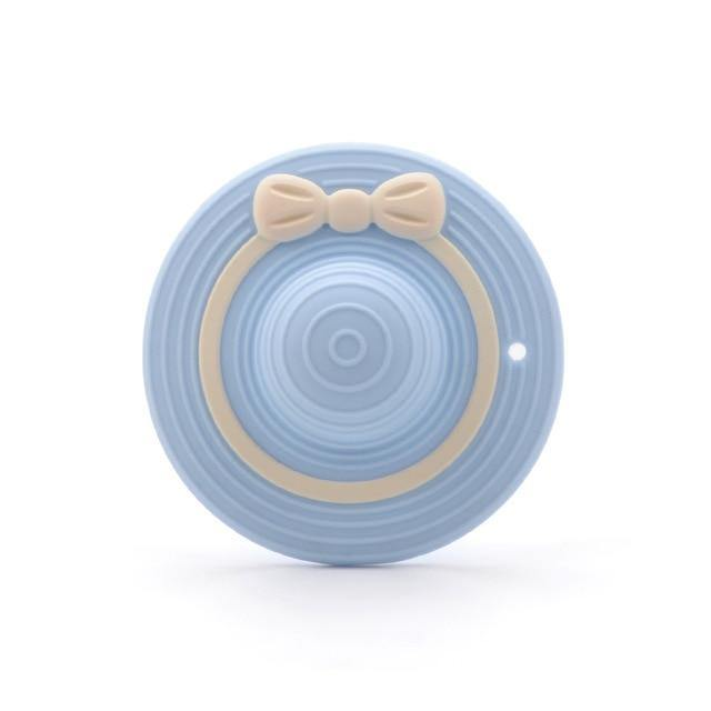 Silicone Teether - Hat (Blue) - Our Baby Nursery