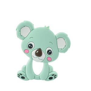 Silicone Teether - Koala (Mint) - Our Baby Nursery
