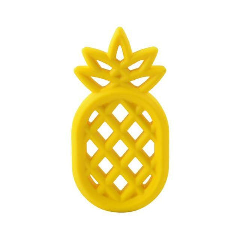 Silicone Teether - Pineapple - Our Baby Nursery