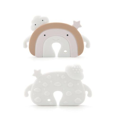 Silicone Teether - Rainbow - Our Baby Nursery