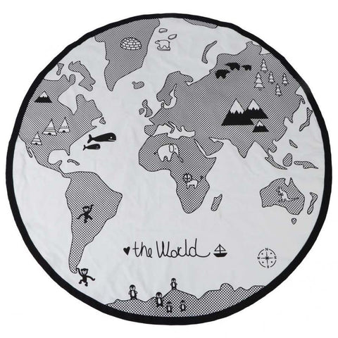 The World Map Play Mat - Our Baby Nursery