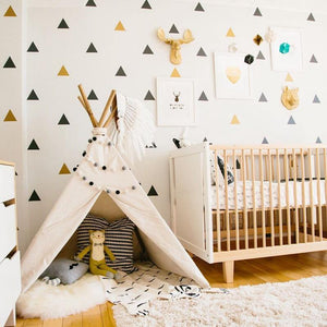 Triangles Decal - Our Baby Nursery