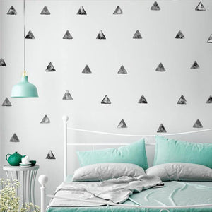 Triangles Nordic Style Decal - Our Baby Nursery