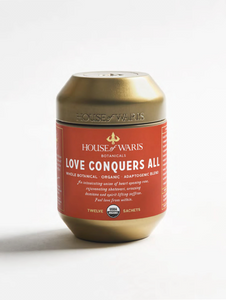 Love Conquers All - 12 Sachets in Tin (12 units - $13.50 each)