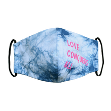 Load image into Gallery viewer, Hand-Dyed Natural Indigo Mask - Custom 500 Pack