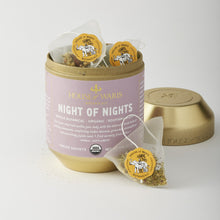 Load image into Gallery viewer, Night of Nights - 12 Sachets in Tin (12 units / $14.00 each)