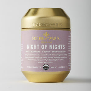 Night of Nights - 12 Sachets in Tin (12 units / $14.00 each)