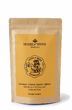 Citrus Ginger Green - 15 Sachets in Kraft Bag (12 units / $13.50 each)