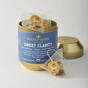 Sweet Clarity - 12 Sachets in Tin (12 units / $14.00 each)