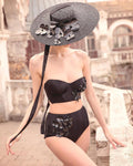 Ariadne black bikini top - Bikini top by Keosme. Shop on yesUndress