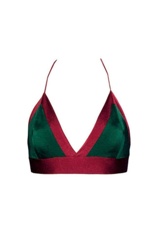 Audrey ruby emerald top - Bikini top by Keosme. Shop on yesUndress