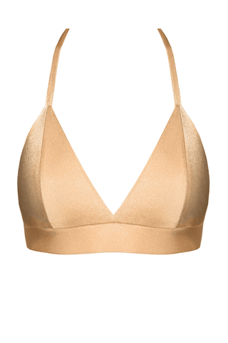 Mira gold bikini top - Bikini top by Love Jilty. Shop on yesUndress