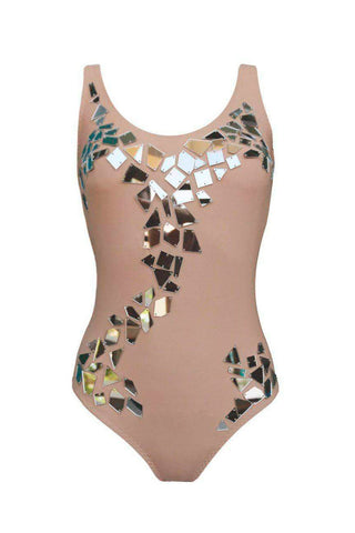 Avema Silver swimsuit - One Piece swimsuit by Keosme. Shop on yesUndress