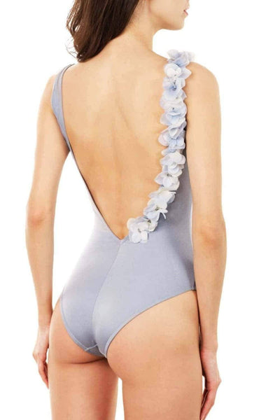 Audrey SIlver Una - One Piece swimsuit by Keosme. Shop on yesUndress