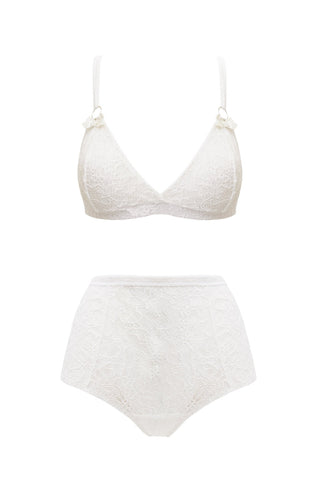 Tendernesse ivory set - Lingerie set by bowobow. Shop on yesUndress