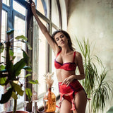 Imperialia balconette bra cherry - Bra by loveJilty. Shop on yesUndress