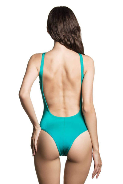 Elle Aqua - One Piece swimsuit by loveJilty. Shop on yesUndress