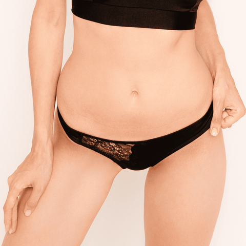 Agnes black slip panties - Slip panties by loveJilty. Shop on yesUndress