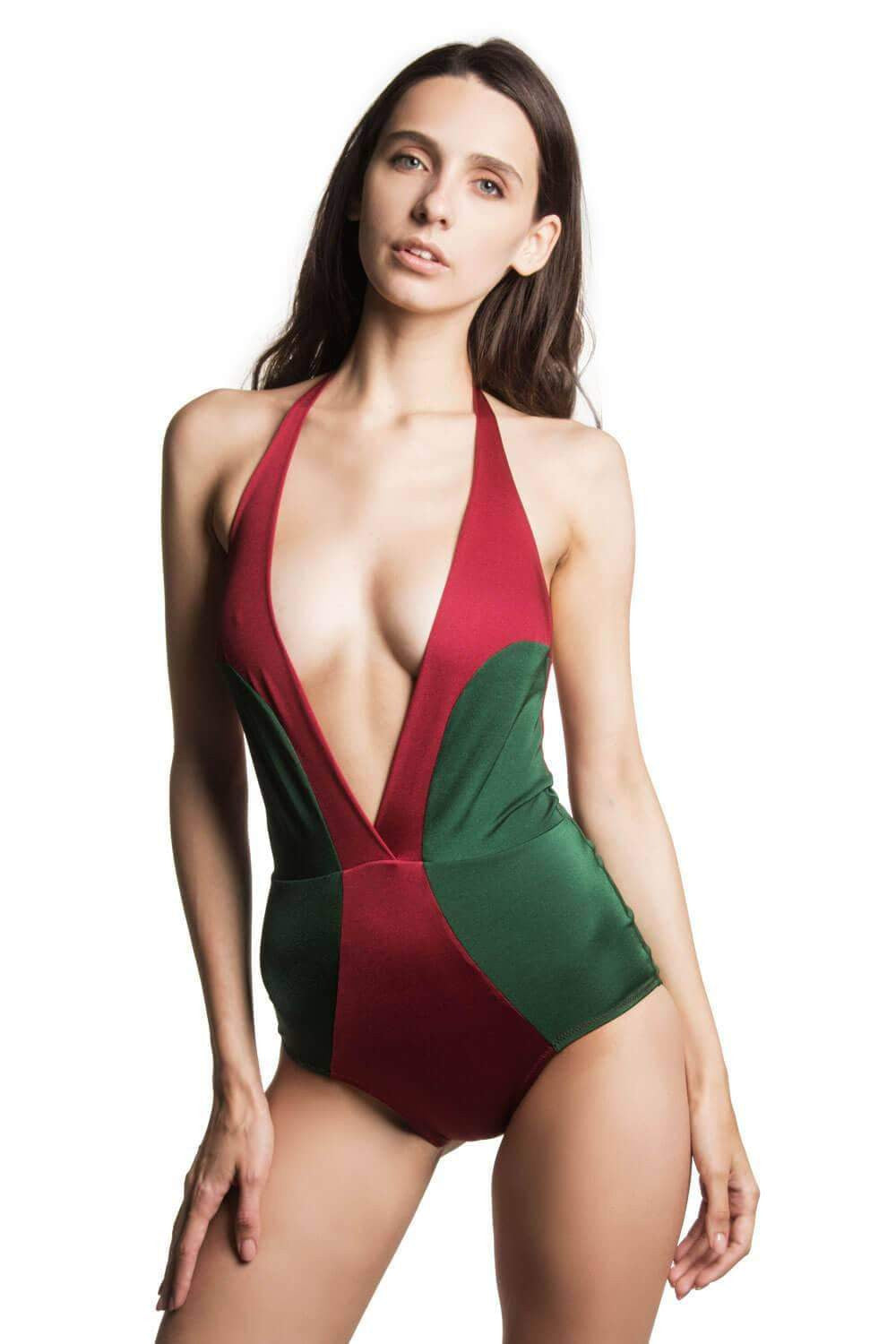 Donna Ruby Emerald swimsuit - One Piece swimsuit by loveJilty. Shop on yesUndress