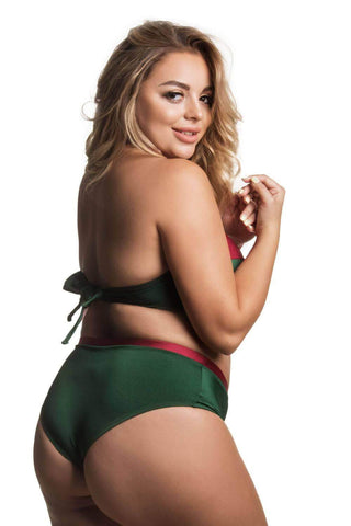 Donna Ruby Emerald bikini bottom plus size - Bikini bottom by Love Jilty. Shop on yesUndress