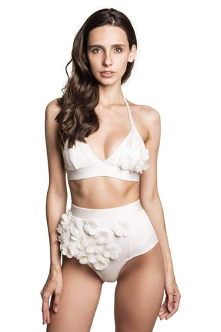 Audrey Ivory top - Bikini top by Keosme. Shop on yesUndress