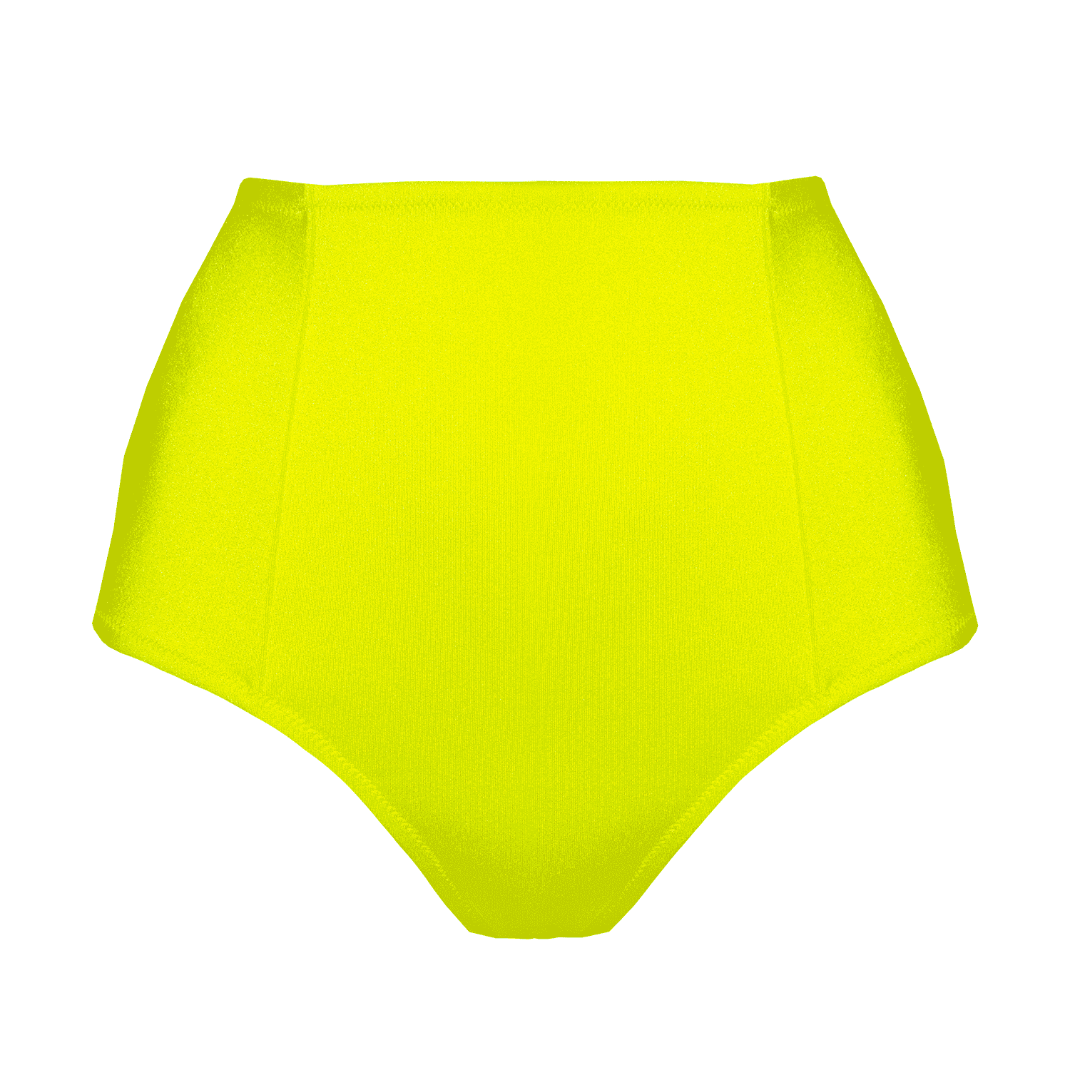 Designer swimsuit, high bottom, exclusive, comfortable, loveJilty, bright, neon, yellow, high panties, high waisted, basic swimsuit, smooth, comfortable, wear-resistant, dries quickly, minimalistic, bright, sporty, fashionable, simple