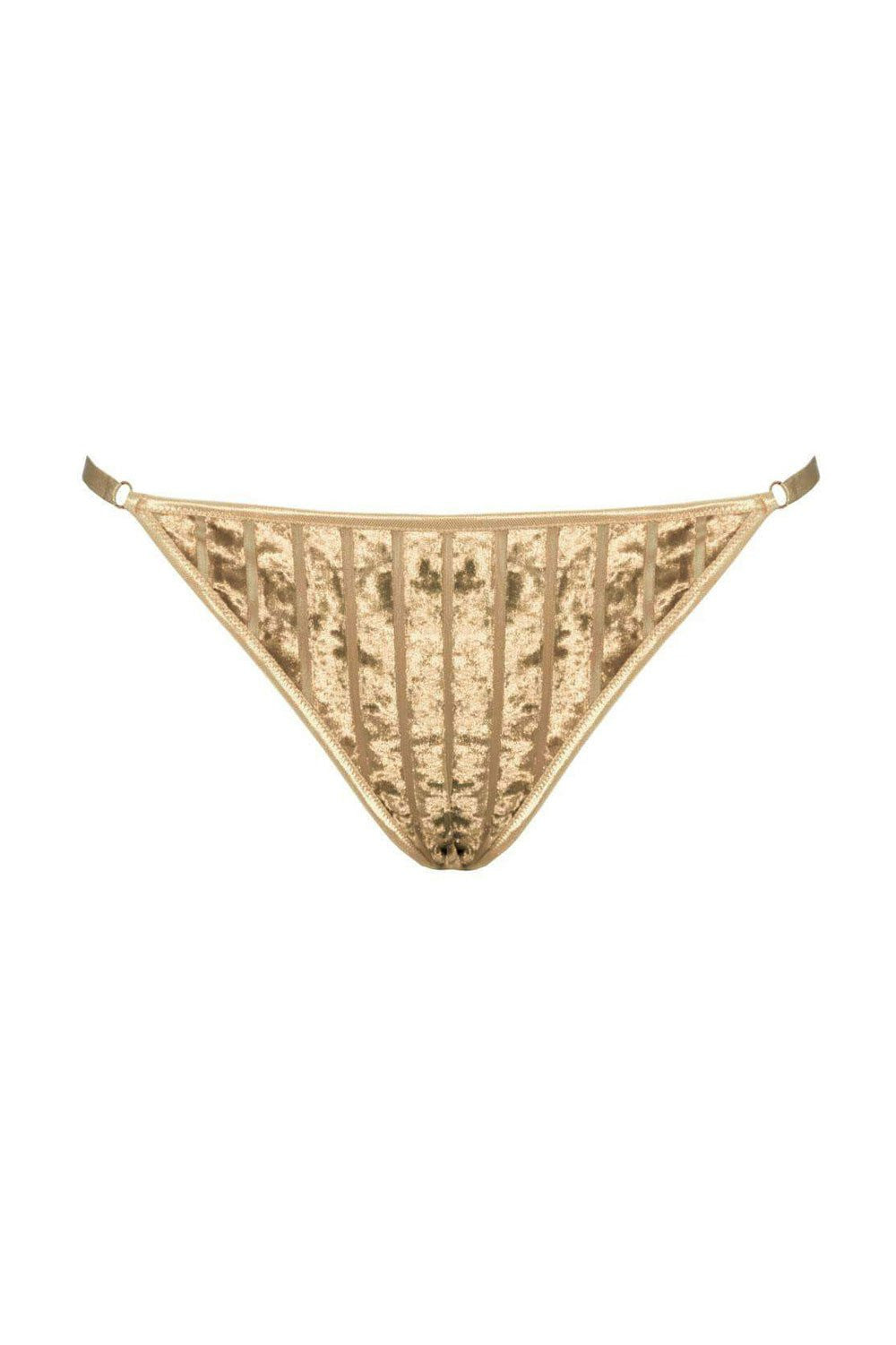Willow gold thongs