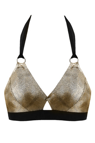 Amelia Gold bikini top - Bikini top by Love Jilty. Shop on yesUndress