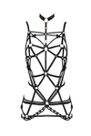 Anaconda black harness dress - Harness by Keosme. Shop on yesUndress