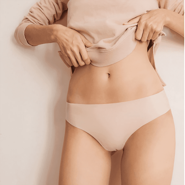 3 Pack seamless Brazilian knickers beige - Panties set by WOW! panties. Shop on yesUndress