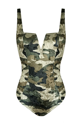 Bersèra Military swimsuit - One Piece swimsuit by Keosme. Shop on yesUndress