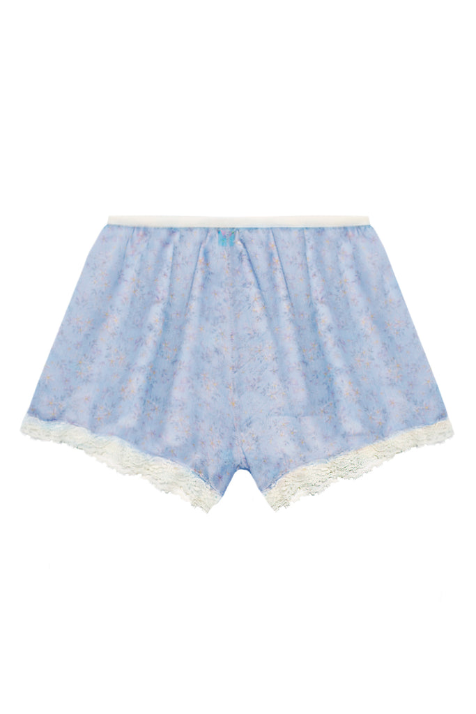 Bloomy Blue high waisted shorts - Shorts by WOW! Panties. Shop on yesUndress