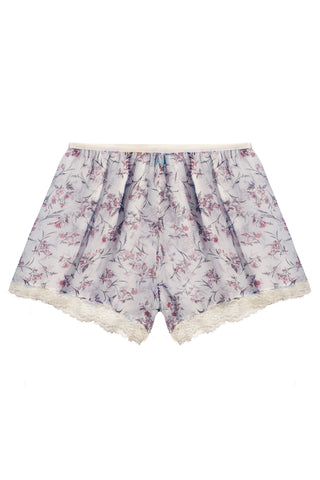 Bloomy White high waisted shorts - Shorts by WOW! Panties. Shop on yesUndress