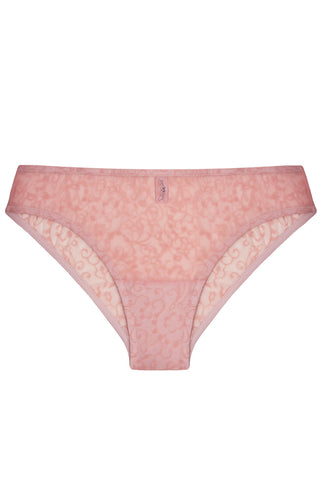 Sandra Blush slip panties - yesUndress