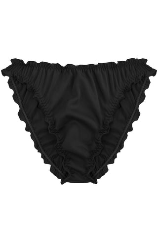 Candy Black high waisted panties - Slip panties by WOW! Panties. Shop on yesUndress