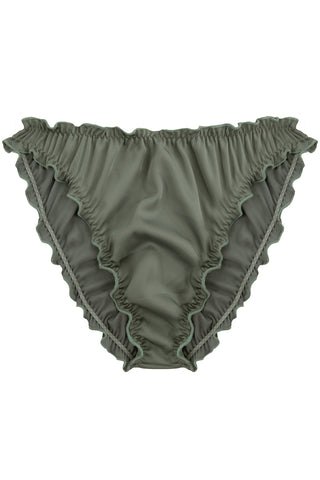 Candy Khaki high waisted panties - Slip panties by WOW! Panties. Shop on yesUndress
