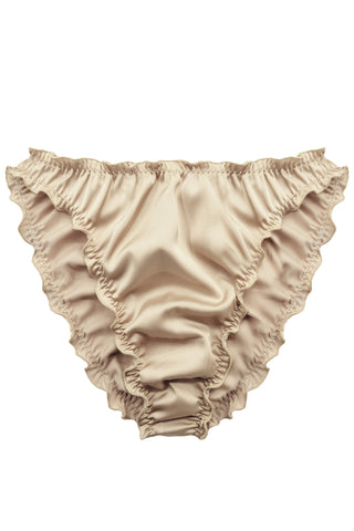 Candy Gold high waisted panties - Slip panties by WOW! Panties. Shop on yesUndress