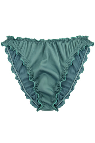 Candy Teal high waisted panties - Slip panties by WOW! Panties. Shop on yesUndress
