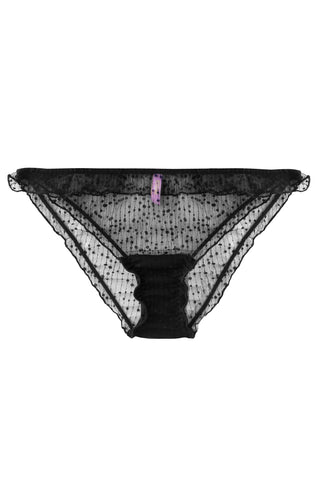 Chéri Noir panties - Slip panties by Closer by Keòsme. Shop on yesUndress