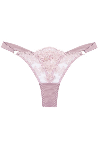 Flore Rose thongs - Thongs by Closer by Keòsme. Shop on yesUndress
