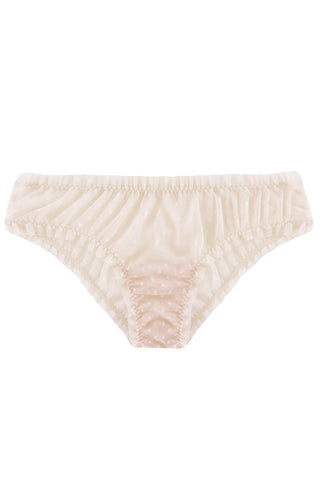 Cloudy Cream panties - Slip panties by WOW! Panties. Shop on yesUndress