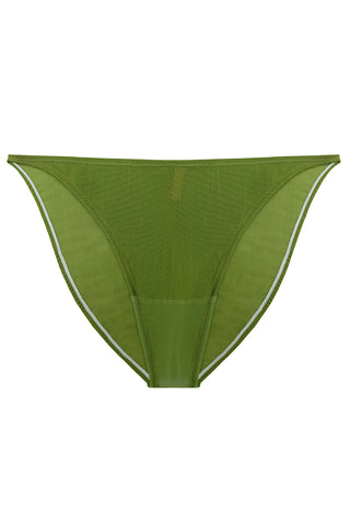 Constance Greenery high-waisted panties