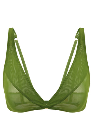 Constance Greenery soft bra - Bra by More! Keòsme. Shop on yesUndress