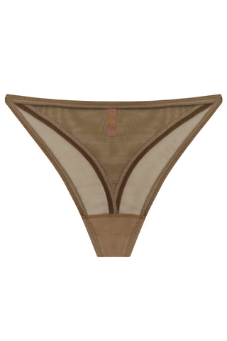 Constance Hazel high-waisted thongs