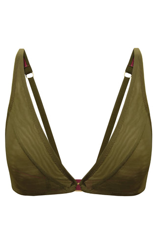 Constance Olive soft bra - Bra by More! Keòsme. Shop on yesUndress