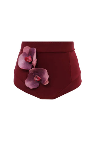 Dendrobia high waisted bikini bottom