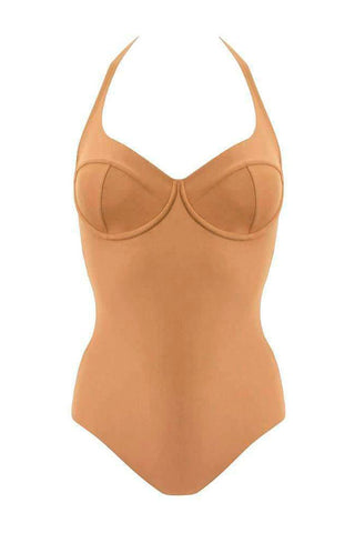 Donna beige swimsuit - yesUndress