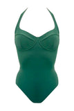Donna green swimsuit - One Piece swimsuit by Love Jilty. Shop on yesUndress