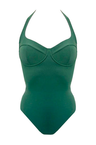 Donna green swimsuit - One Piece swimsuit by loveJilty. Shop on yesUndress